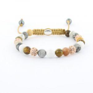 KARMA armband Spiral Orange XS (rose crystal) 83591