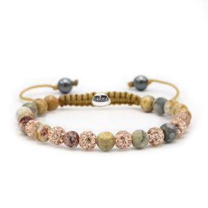 KARMA armband Spiral Pink Gold XS (rosecrystal) 83600