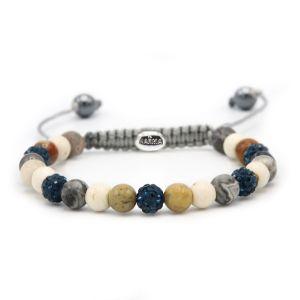 KARMA armband Spiral Island XS (blue crystal) 83616