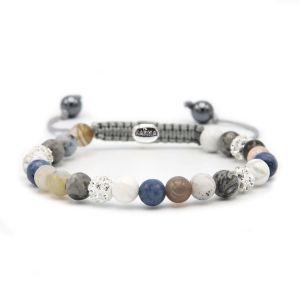 KARMA armband Spiral Blue Moon XS (whitecrystal) 83626