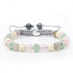 Karma armband 83719 Spiral Sweet Marble XS )