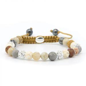 Karma armband 83744 Spiral Geneva XS (white crystal)