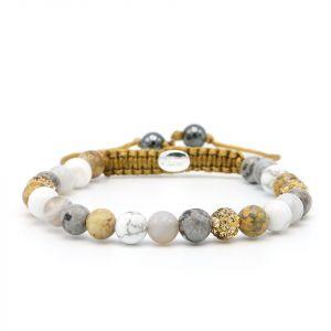 Karma armband 83750 Spiral Golden Lake XS (gold crystal)