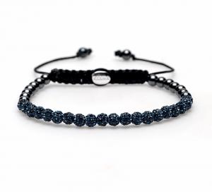 Karma armband 84144 Spiral Blue Jeans XXS