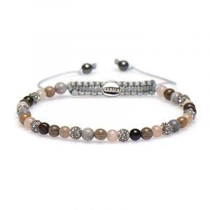 Karma armband 84268 Spiral Lyze XXS (Grey Crystal)