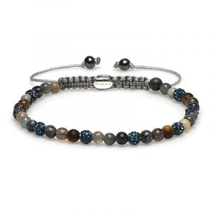 Karma Armband 84283 Spiral Faye XXS (Blue Crystal)