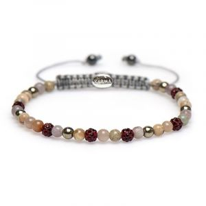 Karma Armband 84288 Spiral Yris XXS (Red Crystal)
