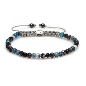 Karma Armband 84309 Spiral Fayen XXS (Grey Crystal)