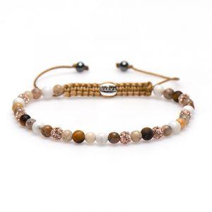 KARMA armband Spiral Soft Sand XXS (rosecrystal) 84323