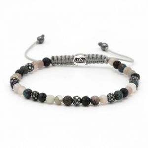 Karma Armband 84368 Spiral Madness XXS (Grey Crystal)