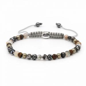 Karma Armband 84369 Spiral Romance XXS (Grey Crystal)