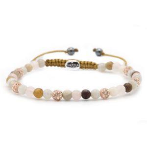 KARMA armband Spiral Sweet & Soft XXS (rosecrystal) 84388