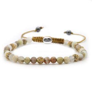 KARMA armband Spiral Late Night Pastels XXS (gold crystal) 84396
