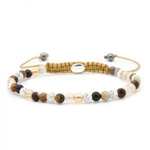 KARMA armband 84424 Spiral Next Year XXS (white crystal)