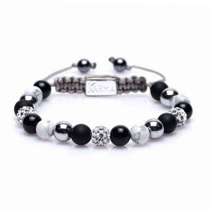 Karma Armband 85148 Spiral Could you be Loved M (White Crystal)