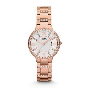 Fossil horloge ES3284 - Staal - Ros