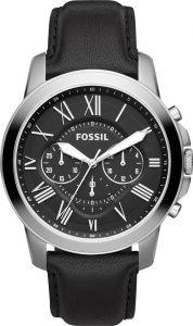 Fossil horloge FS4812IE - Leer - Bruin