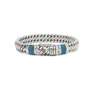 BUDDHA TO BUDDHA armband J070TQ Ben Junior Stone Turquoise Zilver