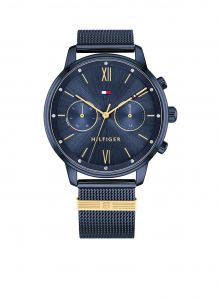 Tommy Hilfiger TH1782305 Horloge  - Staal - Blauw -