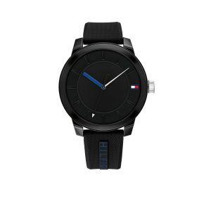 TOMMY HILFIGER TH1791744 Horloge - Siliconen - Zwart - Ø 44 mm