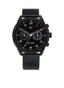 Tommy Hilfiger TH1791787 Horloge  - Staal - Zwart -