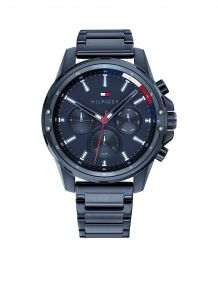 Tommy Hilfiger TH1791789 Horloge  - Staal - Blauw -