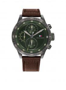 Tommy Hilfiger TH1791809 Horloge  - Leer - Bruin -