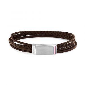 Tommy Hilfiger TJ2790280L - Armband - Bruin