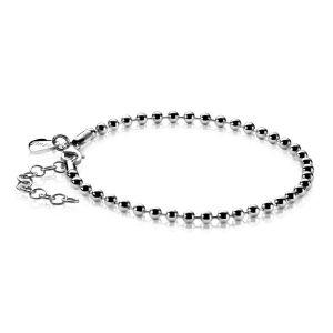 ZINZI zilveren bolletjes armband 17,5-20,5cm ZIA1127