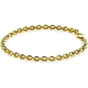 ZINZI zilveren armband goud verguld ZIA1153G (Lengte 19cm)