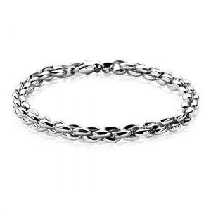 Zinzi zilveren schakelarmband 19,5cm ZIA1205