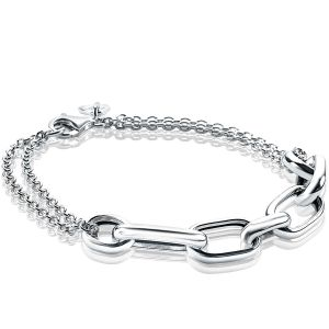 ZINZI zilveren armband ovaal ZIA1804