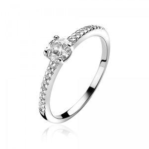 ZINZI ring ZIR1081 - Zilver 925 - Zirkonia