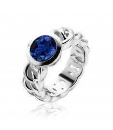 ZINZI ring ZIR1101B - Zilver 925 - Zirkonia