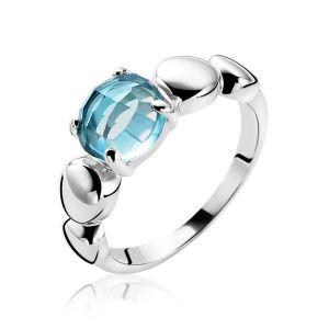 ZINZI ring ZIR1145T - Zilver 925 - Zirkonia
