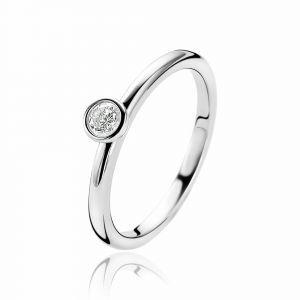 ZINZI ring ZIR1177 - Zilver 925 - Zirkonia