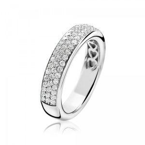 ZINZI ring ZIR1183 - Zilver 925 - Zirkonia