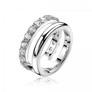 ZINZI ring ZIR1296 - Zilver 925 - Zirkonia