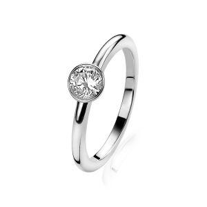 ZINZI ring ZIR1298 - Zilver 925 - Zirkonia