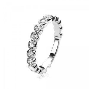 ZINZI ring ZIR1311 - Zilver 925 - Zirkonia