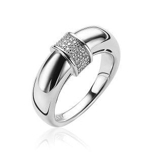 ZINZI ring ZIR1865 - Zilver 925 - Zirkonia