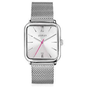 ZINZI horloge ZIW802M Square Roman + gratis armband t.w.v. €29,95