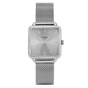 CLUSE CL60012 Horloge La Garconne Mesh Zilverkleurig 29mm