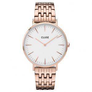 CLUSE CW0101201024 Horloge La Boheme White Rosegold 38mm