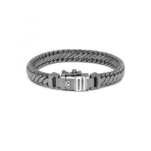 Buddha to Buddha Armband Ben XS Black Rhodium Shine Zilver J070BR SS