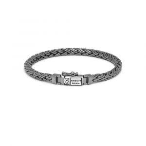 Buddha to Buddha Armband Katja XS Black Rhodium Shine Zilver J170BR SS