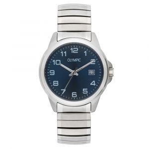 Olympic OL26HSS282 Phoenix Horloge - Staal - Zilverkleurig - 38mm