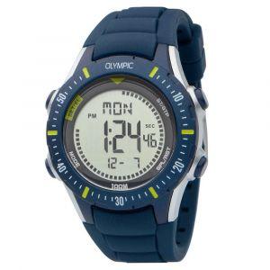 Olympic OL45HKR010 Biking Horloge - Siliconen - Blauw - 40mm