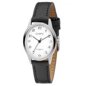 Olympic OL72DSL001 Toledo Horloge - Staal - Zwart - 27mm