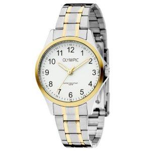 Olympic OL72DSS001B Baltimore Horloge - Staal - Bicolor - 29mm